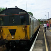 205032 - Edenbridge Town<br /> <br /> This Class 205 unit 205 032, is today preserved at The Dartmoor Railway.
