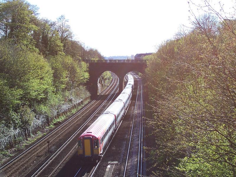 Class 442 - Near Surbiton