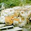 CE 5926A 263015, CE B0152A 263017 & CE B0152/2B 263044 - Foxfield Railway - 18 July 2004