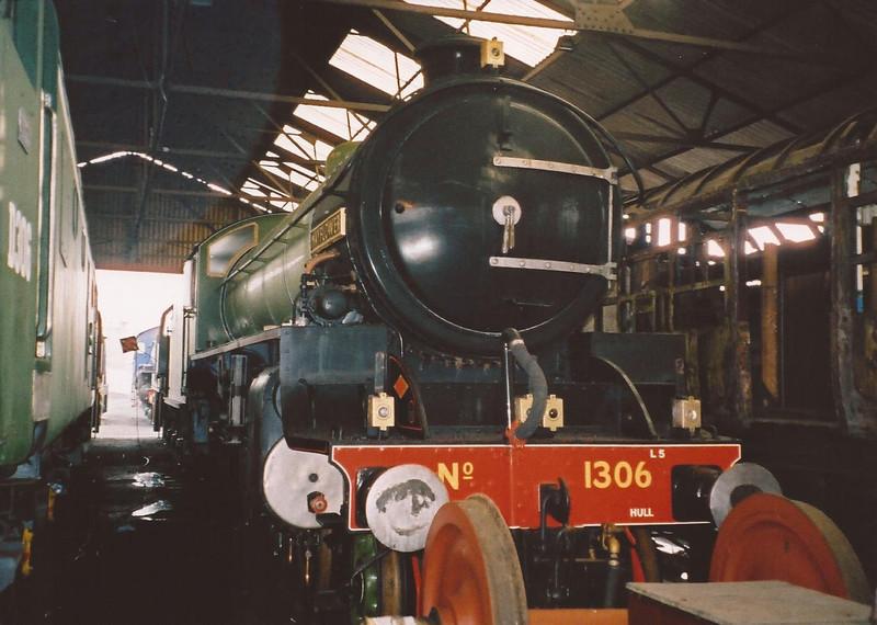 No. 1306 Mayflower - Nene Valley Railway - 1 January 2004