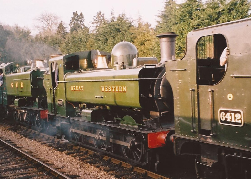 4612 - Bishops Lydeard, West Somerset Rly - 20 March 2005