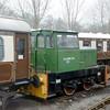 TH 129V No.1 Ron Rothwell - Pickering, North Yorkshire Moors Rly - 6 February 2005