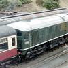 D5054 - Bury, East Lancs Railway - 30 January 2005