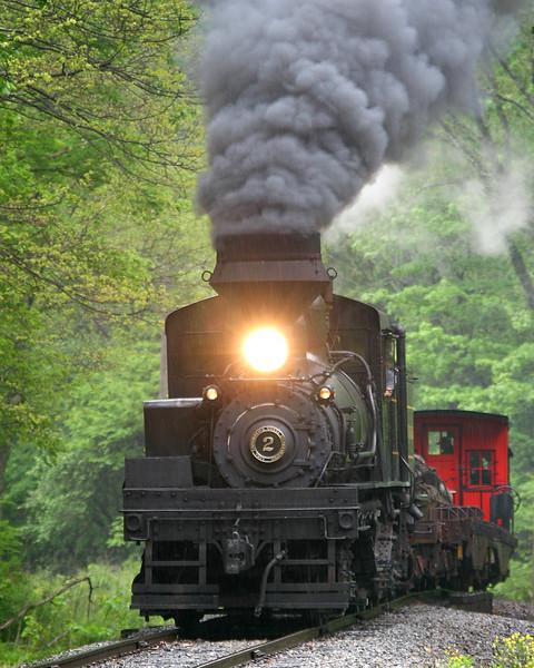 Image taken at the 2008 Cass Railfan Weekend