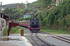 Ouro Preto is home to a tourist steam operation, the Trem da Vale which is a joint effort from Vale , the FCA and the Associação Brasileira de Preservação Ferroviária (ABPF). Here is the train arriving from Mariana. 201 was actually built for the FCCN in Argentina in 1949.