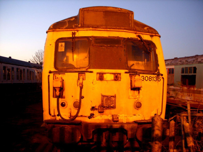 308 136 (DMBSO) - Walthamstow Pump House Museum<br /> <br /> (Vehicle now moved to Coventry)