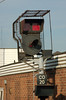 CO20 is a three position searchlight, all the aspects being displayed through one lens. It controlled access to the carriage sidings, hence the extra indications on the top.