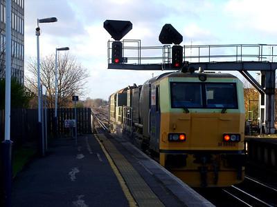 New Malden, Chertsey, Ruscombe & Sonning Cutting (2007)