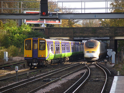 Travelcard inc. Second Silverlink Swansong (10-11-2007)