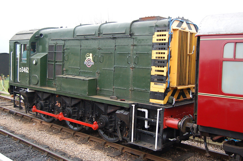 D3462 - Bishops Lydeard, West Somerset Rly - 25 March 2007