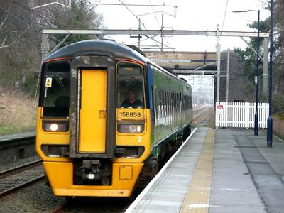 Alsager, Crewe & Birmingham (15-02-2008)