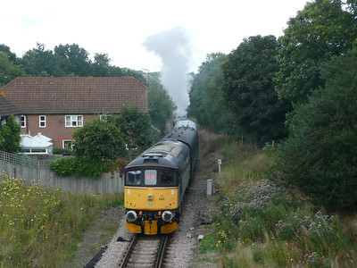 Spa Valley Railway & Tonbridge Yard (24-08-2008)