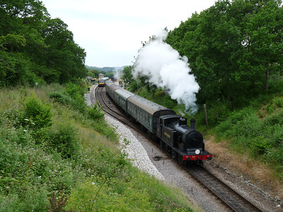Eastleigh Works & Swanage Railway (28-06-2009)
