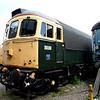 Class 33/2, D6586 (33201) - Swanwick Yard