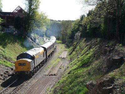 Spa Valley Railway & South East Kent (26-04-2009)