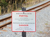 And despite its gauge the WHR is properly signed, with warning notices in English and the vernacular language of Snowdonia, Welsh.
