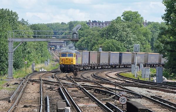 The Norfolk Line train