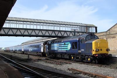 37611 seen at Workington with 2T26 1120 Workington - Maryport shuttle, 26/04/10.