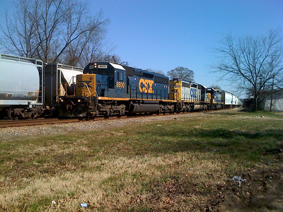CSX in Covington, Ga (02/10)