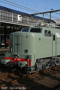 "The former NS1201 and the oldest of its series is now owned bij the ""Werkgroep 1501""."