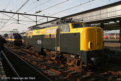 """Former NS1211, today the property of """"Werkgroep 1501""""."""