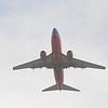 Southwest 737 landing Sky Harbor