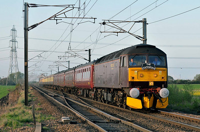 Class 47 No 47760 at Joan Croft on 9 April 2011 with the 1Z33 15:30 Carlisle - Ely (running on time)