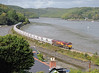 I suppose this is the classic Golant shot taken from high up in the village. It is an idyllic spot what with the river, the Fisherman's Arms pub and Cormorant Hotel and Restaurant, and every now and then a china clay train.