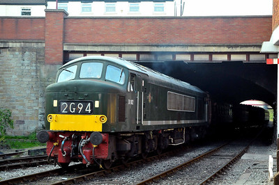 Class 46 No D182 (46045) at Bury on 2 July 2011