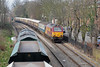 …and meets 67003 and 67002 on the 1Z33 from Bristol to Kensington Olympia…
