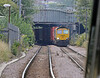 As luck would have it the 4L57 Daventry to Tilbury was nearly bowled by a departing 378…