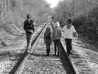 2012 Train Tracks