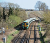 Beyond Haywards Heath the South Downs become a prominent feature on the horizon but after all the ups and downs of The Weald the going gets a bit easier. After a stop to refill my water bottle at the Plumpton Plough I reached Cooksbridge on the outskirts of Lewes. It was 15:52 as the 14:47 from Victoria sped through the station. Despite Cooksbridge only seeing a  handful of trains in each direction Monday to Friday the automated 'Please stand back from the platform edge, the approaching train is not scheduled to stop at this station' rings out for every train.