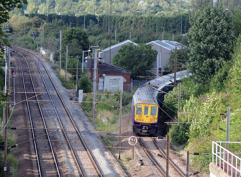 Friday August 3rd. A stakeout at Silkstream Junction, Hendon for the 6L87 revealed, firstly, a pair of 319s on a stopping train on the down local...