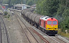 Final picture and 60091 is getting into its stride with the empty tanks.