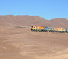 The acid train is restarting its climb to the summit at Cumbre.