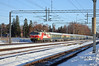 At 07:47 Sr1 3024 leads train 274 from Kemijärvi in Lapland arriving at Tikkurila