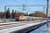 At 07:47 Sr1 3024 leads train 274 from Kemijärvi in Lapland arriving at Tikkurila