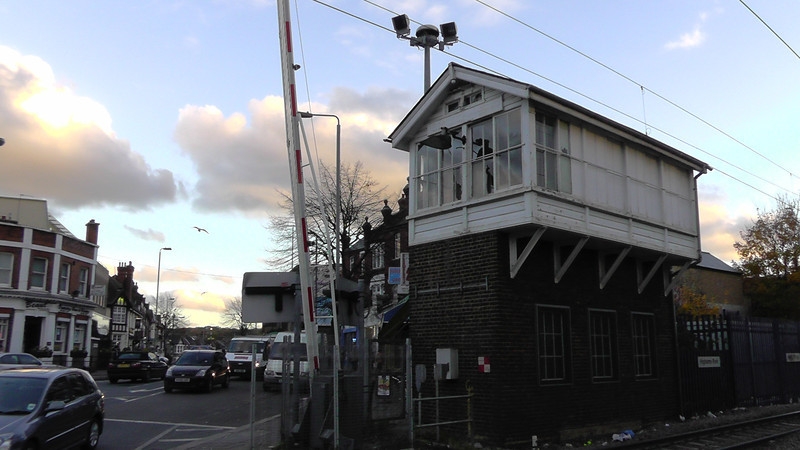Highams Park Signalbox