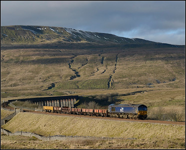 2018 01 27.66305 on 6K05 at Ribblehead.