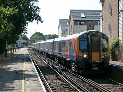 Addlestone, Potbridge, Worting Jn & The Thames Valley (10-07-2013)