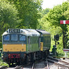 25173 & 3-CIG 1498 - North Weald (Epping Ongar Railway)