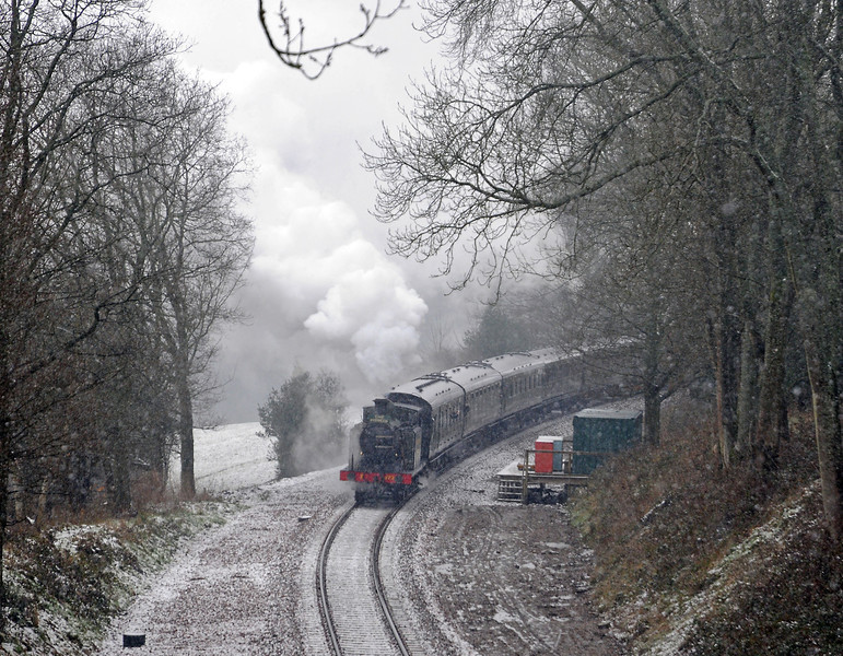 March 23rd, the Bluebell Railway's extension to East Grinstead opens.