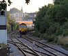 After yesterday's 6L89 I was surprised to find that a 6L87 from Earles to West Thurrock was running. It appeared a few minutes early at 19:17 behind 66601.