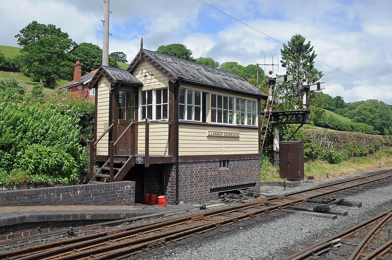 Llanfair's signal box