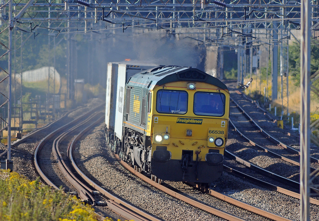 ...followed by 66538 on the 4M88 to Lawley Street