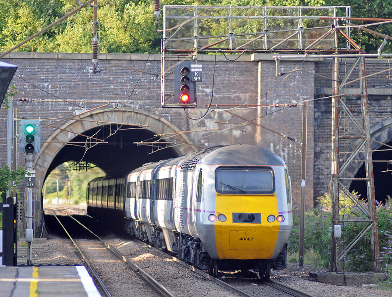 ...and closely followed by an HST en-route to Harrogate.