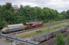 ...as 66176 ascended the spur to Acton Wells on the 6A25 West Drayton to Dagenham...