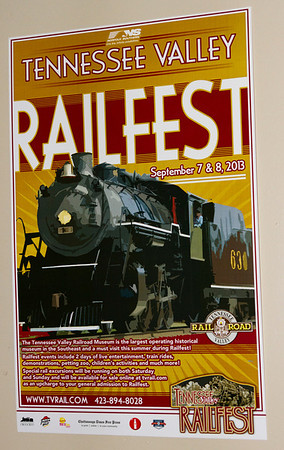 Tennessee Valley RR Museum Railfest 2013