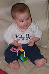 Little Granddaughter Darcey at 14 weeks.06/01/2013.Fuji s3 pro.